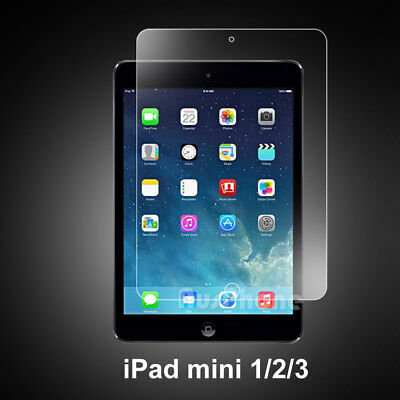 UK Real 9H Tempered Glass Film Screen Protector For Apple iPad Mini 1/2/3