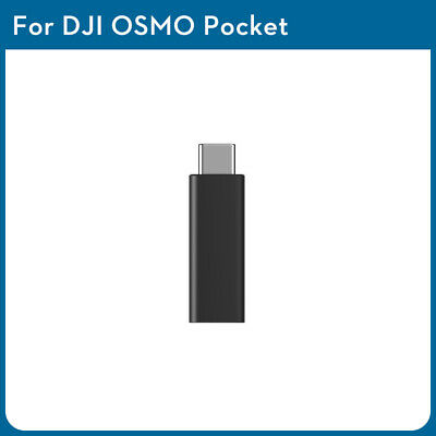 For DJI Osmo Pocket Gimbal 3.5mm Adapter External Microphone Mic Audio Accessory