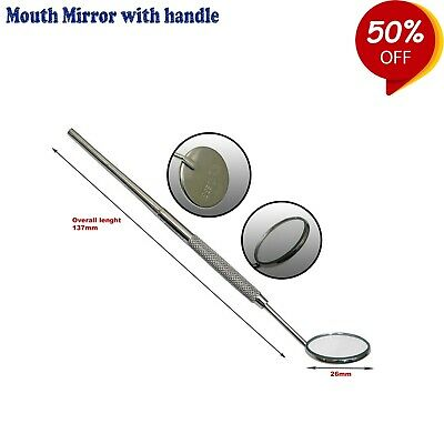 Dental Mouth Mirror With handle Examination Tools Ortho