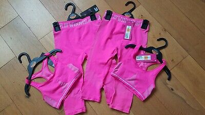 M and s kids sports leggings crop top BNWT 9 - 11 years