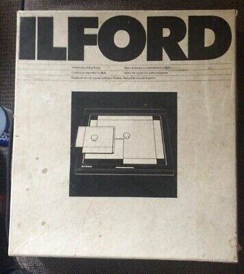 "ILFORD Multi-Mask Printing Frame 12x12"" Complete With Instructions"