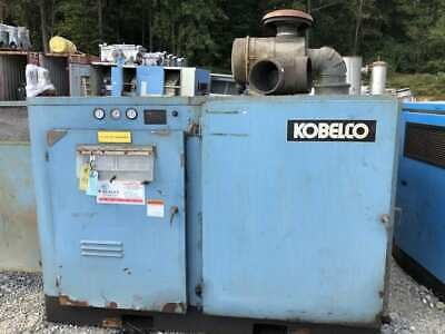 Kobelco KNW I-A/L 100HP Two-Stage Rotary Screw Air Compressor 3PH -Parts/Repair