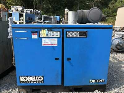 Kobelco KNW I-C/L 100HP Two-Stage Rotary Screw Air Compressor 3PH Parts/Repair
