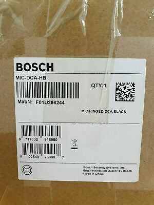 Bosch MIC-DCA-HB Hinged DCA for MIC 7000 Series Cameras, Black