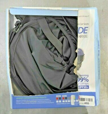 Manito Sun Shade for Strollers and Car Seats - Black