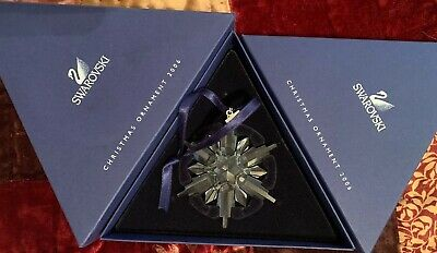 Swarovski Annual Limited Edition Christmas Ornament dated 2006