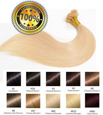 50 100 150 200 EXTENSIONS POSE A CHAUD CHEVEUX 100% NATURELS QUALITE REMY 1g
