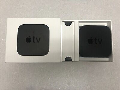 Apple TV 4K HD Media Streamer - Black - 32GB & 64GB - USED