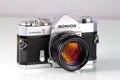 Preciosa Konica Autoreflex T + Hexanon 1.4 57  Excellent Cla Serviced Tested