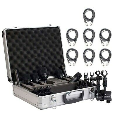 Audix FP7 Drum Kit Microphone Package with XLR Cables