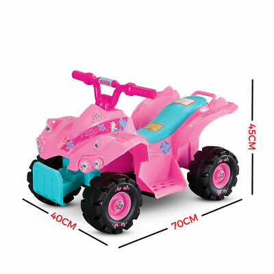 Disney Minnie Mouse™ 6V Electric Quad Bike Rechargeable Child Ride On Toy Car