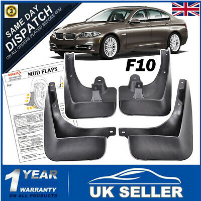 For BMW 5 Series F10/F11 Inc M Sport Mud Flaps Guards 520i 523i 528i 530i 535d