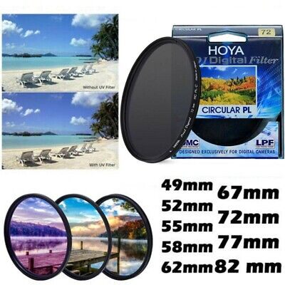 HOYA PRO1D Circular Polarising Slim Filter PL-CIR CPL 52 55 58 67 72 77 82mm
