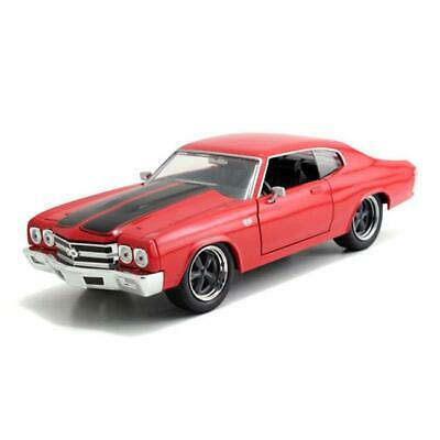 Jada 97193 - 1/24 1970 Chevrolet Chevelle Fast & Furious Red With Black Stripes