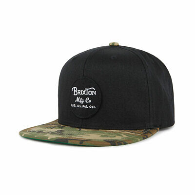 Brixton Wheeler Snap Back Black / Camo