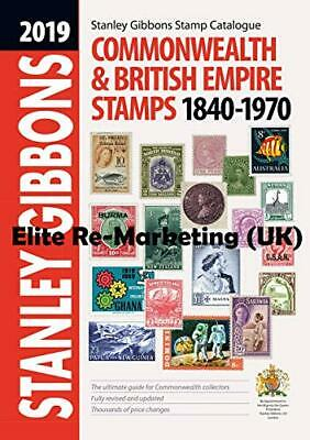 2019 Commonwealth & Empire Catalogue 1840-1970, Jefferies 9781911304289 New..