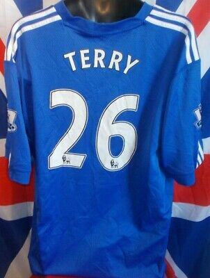 Official Chelsea SS Home Shirt 2009-2010 Terry #26 (3XL Approx)