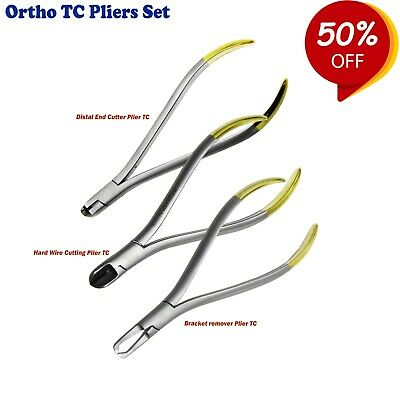 Dental Orthodontic Cutters & Pliers Wire Cutting instruments Tungsten Carbide CE