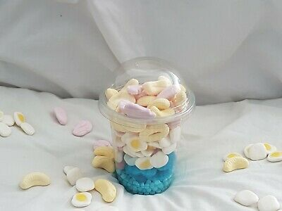 Large Sweet Filled Smoothie Cups ~ Stickers Available ~ Birthdays Christmas