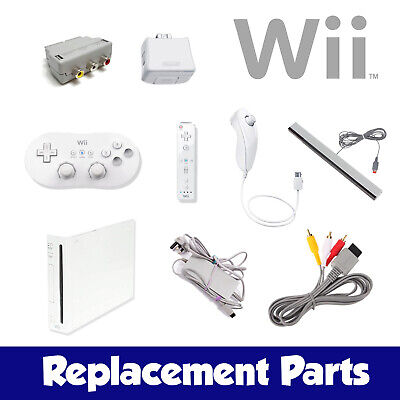 **PICK YOUR PART** Official Nintendo Wii Parts : PSU, Sensor Bar, Controllers ..