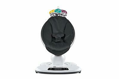 4Moms Mamaroo 4 Infant Reclining Seat Rocker Bouncer Swing 2018 Classic Black