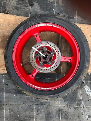 suzuki gsxr 600 K7 Rear Wheel And Tyre Vgc 2007
