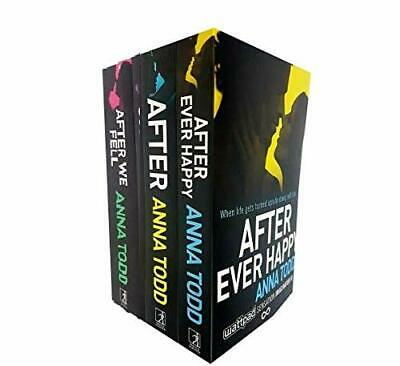 Anna Todds The After Series 5 Books Set (After Ever Happy, After, After We Coll