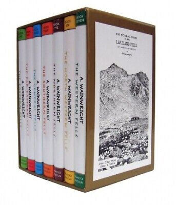 Pictorial Guide To the Lakeland Fells Collection 7 Books Set By Alfred Wainwrigh
