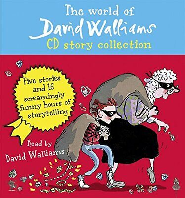 The World of David Walliams CD Story Collection NEW