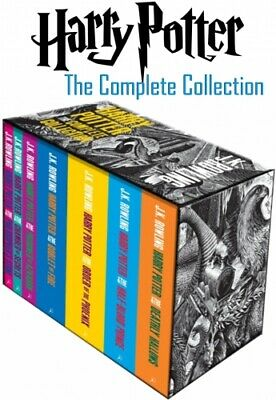 Harry Potter Book Set (Boxed Complete 7 Books Collection Set) PB NEW