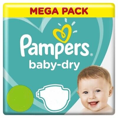Mega Pack Toute Taille Couche Pampers Baby Dry Pack Eco Bebe Change Toilette