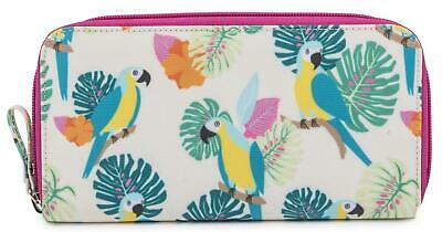 Pink Lining WALLET - PARROT CREAM Table À Langer Langes Nouveau