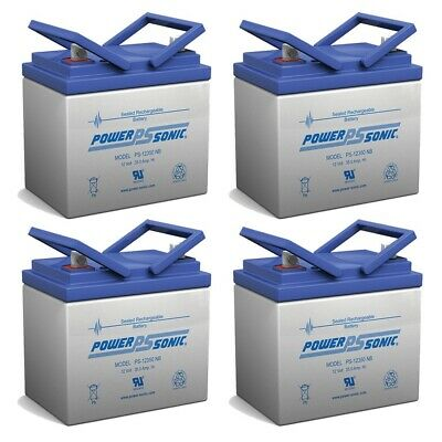 Quickie P120 U1 12V 35Ah SLA Wheelchair Battery CB12350 by Charity Battery 2 Pack