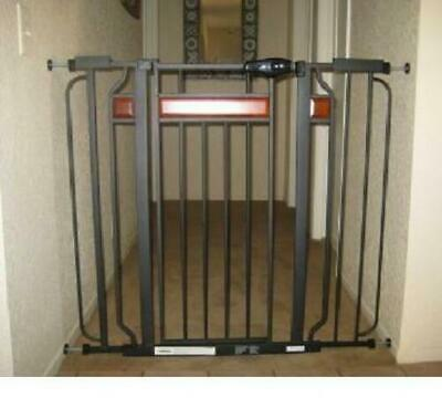 BABY SAFETY GATE Locking Door Walk Extra Wide Tall Child Toddler Fence Pet Dog