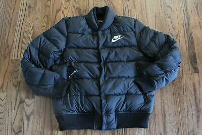 NIKE MENS NSW Down Fill Hooded Arctic Winter Camo Jacket