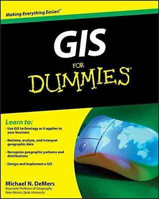 GIS For Dummies by DeMers, Michael N.