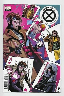 Powers Of X #5 Marvel Comics 2019 Gambit Character Decades Variant Cover