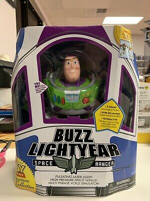 Disney Pixar Thinkway Toy Story Signature Collection Buzz