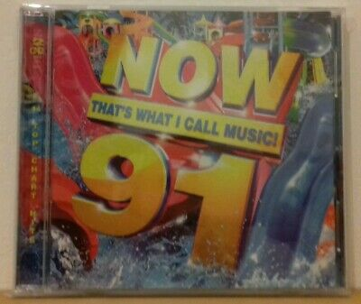 Now That's What I Call Music! 91: 2CD | 2015. New & Sealed. (Next Day Delivery).
