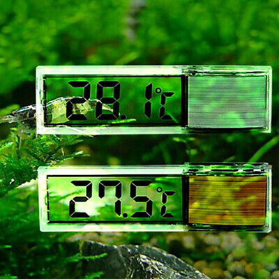 Digital LCD Fish Tank Aquarium Thermometer Sensor Electronic Water Temperature