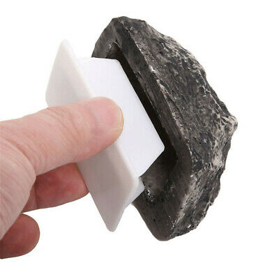 Outdoor Spare Key House Safe Hidden Stone Case Box for Key Hide Storage Box Tip