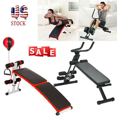 Workout Bench Decline Weight Fitness Incline Exercise Adjustable Flat Gym