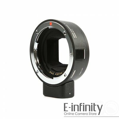 NEW Sigma MC-21 Mount Converter/Lens Adapter (EF-Mount to L-Mount Camera)