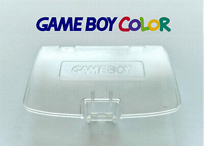Cache Piles pour Game Boy Color NEUF couleur Transparent