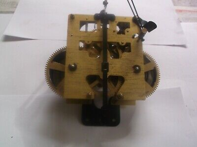 MECHANISM 2 HAMMER FROM AN OLD WALL CLOCK WORKING ORDER ref wa 99