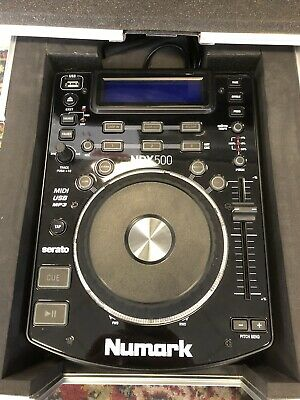Numark Ndx 500 Usb/Cd Player Software Controller Mit Case