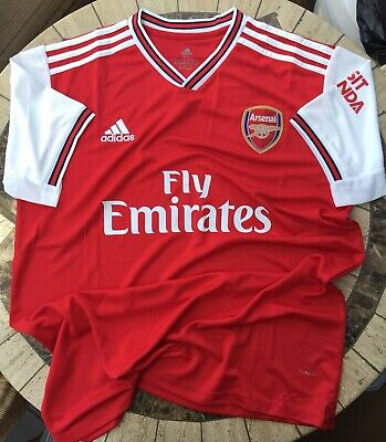 * RRP: £55 * - Arsenal Adidas Home Shirt 2019/20 Football Mens XL - BEST SELLER!