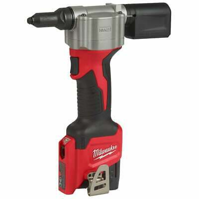Milwaukee 12v Riveter M12BPRT-201X Cordless Rivet Gun 1 2.0Ah Battery Charger