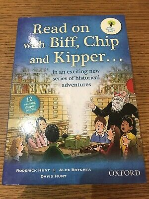 Read On With Biff, Chip And Kipper Set X 12 Books Oxford Reading Tree RRP £72