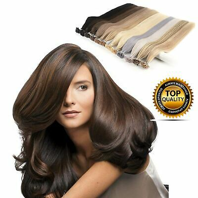 50-200 EXTENSIONS POSE A CHAUD CHEVEUX 100% NATURELS QUALITE REMY 1g FR5326